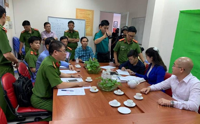 Nguyễn Thái Luyện bị bắt